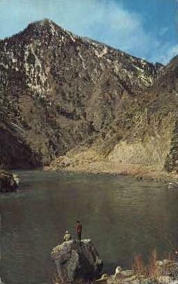 Salmon River - Misc, Idaho ID Postcard