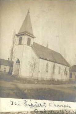 Baptist Church - Caldwell, Idaho ID Postcard