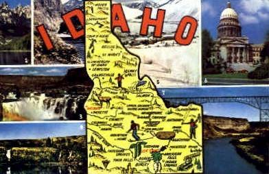 Idaho - Misc Postcard