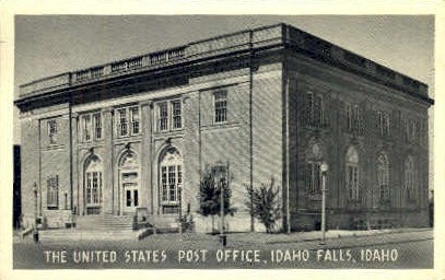 U.S. Post Office - Idaho Falls Postcards, Idaho ID Postcard
