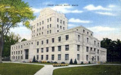 Court House - Boise, Idaho ID Postcard