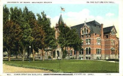 University of Idaho Administration Building - Pocatello Postcard
