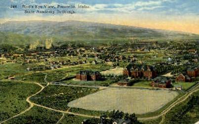 State Academy Buildings - Pocatello, Idaho ID Postcard