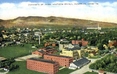 University of Idaho Southern Branch - Pocatello Postcard