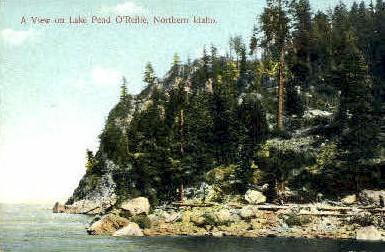 Lake Pend O'Reille - Misc, Idaho ID Postcard