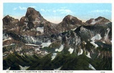 The Grand Teton - Misc, Idaho ID Postcard