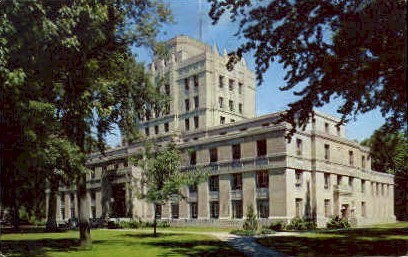 ADA County Court House  - Boise, Idaho ID Postcard