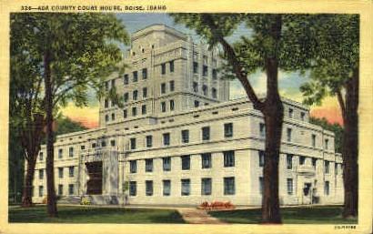 ADA Court House - Boise, Idaho ID Postcard