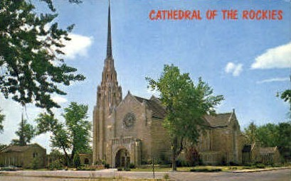 Cathedral of the Rockies - Boise, Idaho ID Postcard