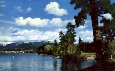 Payette Lakes - Misc, Idaho ID Postcard