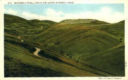 White Bird Spiral - Misc, Idaho ID Postcard
