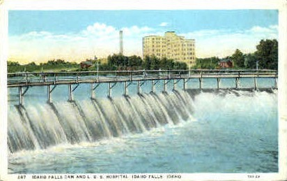 L.D.S.Hospital - Idaho Falls Postcards, Idaho ID Postcard