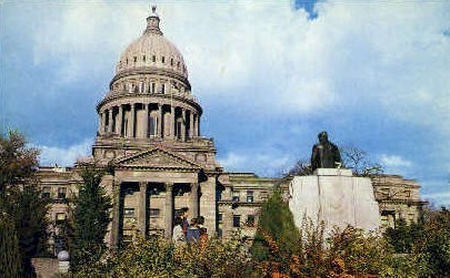 The State Capitol Building - Boise, Idaho ID Postcard