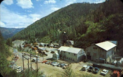 The Galena - Misc, Idaho ID Postcard