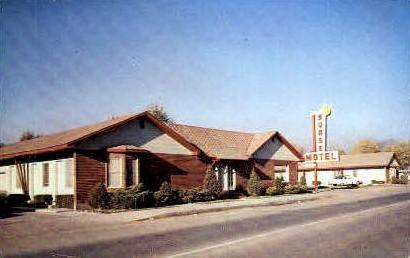 Sunset Motel - Pocatello, Idaho ID Postcard