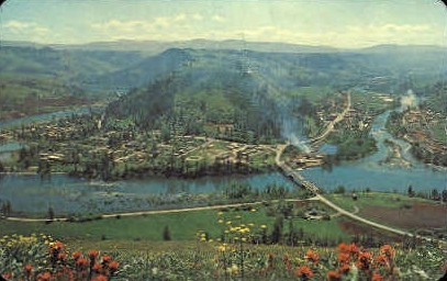 Kooskia, Idaho, ID Postcard