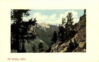 Mt. Alturas - Misc, Idaho ID Postcard