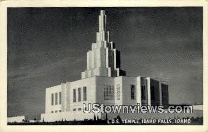 LDS Temple - Idaho Falls Postcards, Idaho ID Postcard