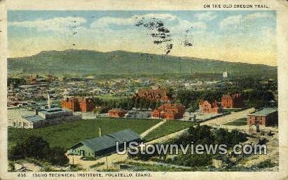 Idaho Technical Institute - Pocatello Postcard