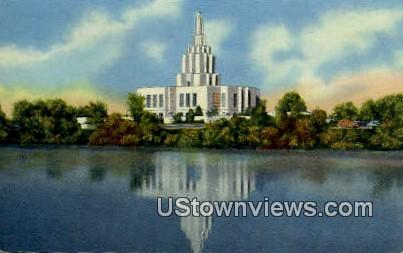 Latter Day Saints - Idaho Falls Postcards, Idaho ID Postcard