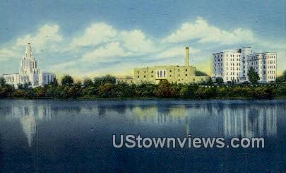 LDS Center, LDS Temple - Idaho Falls Postcards, Idaho ID Postcard