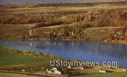 1000 Springs - Hagerman, Idaho ID Postcard