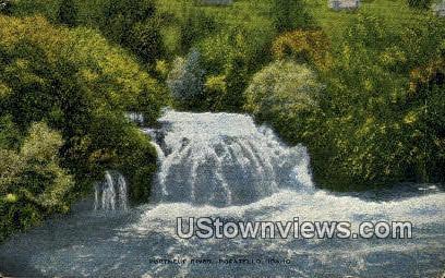 Portneue River - Pocatello, Idaho ID Postcard