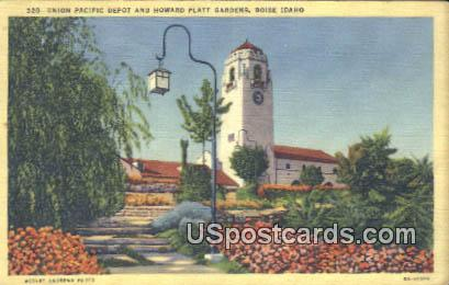 Union Pacific Depot - Boise, Idaho ID Postcard