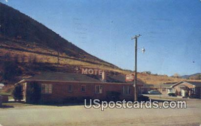 Lava Spa Motel - Lava Hot Springs, Idaho ID Postcard
