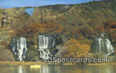 Buhl - Thousand Springs, Idaho ID Postcard