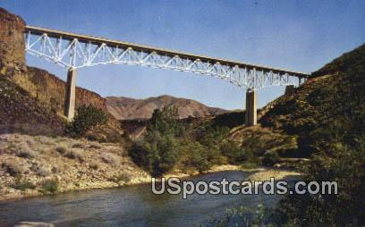 Mores Creek Bridge - Boise, Idaho ID Postcard