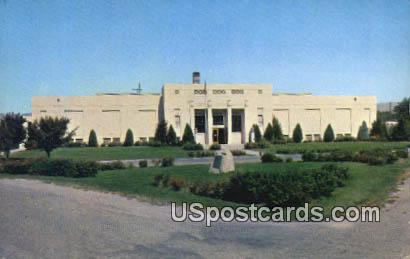 State Historical Museum of Idaho - Boise Postcard