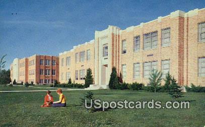 Idaho State College - Pocatello Postcard