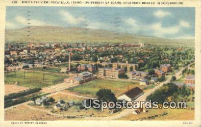 University of Idaho - Pocatello Postcard