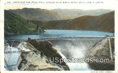 Arrow Rock Dam - Boise, Idaho ID Postcard