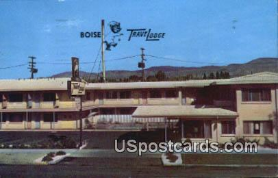 Boise Travelodge - Idaho ID Postcard