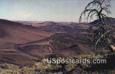 7 Mile Loop Drive - Craters of the Moon National Monument, Idaho ID Postcard
