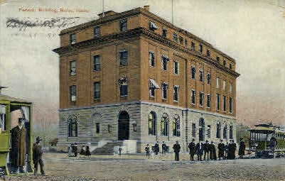 Federal Building - Boise, Idaho ID Postcard