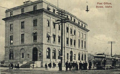 Post Office - Boise, Idaho ID Postcard