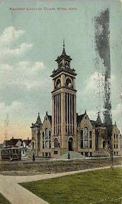Methodist Episcopal Church - Boise, Idaho ID Postcard