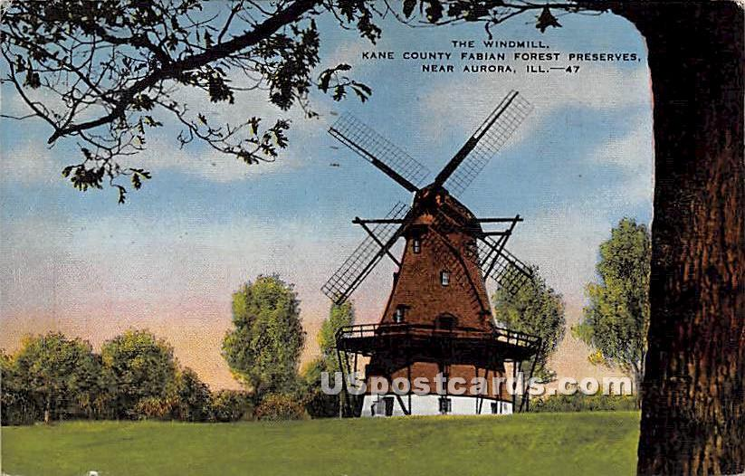 Kane County Fabian Forest Preserves - Aurora, Illinois IL Postcard