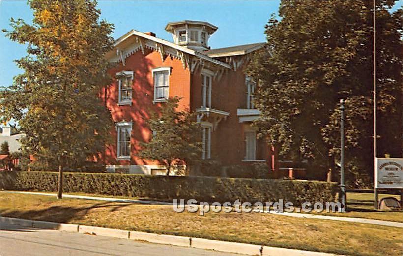 Aurora Historical Museum - Illinois IL Postcard