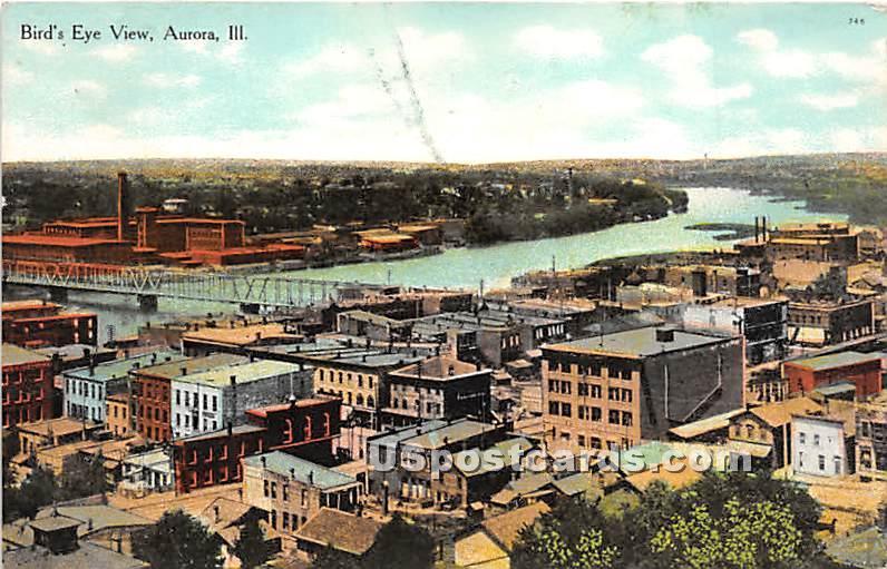 Aurora, Illinois IL Postcard
