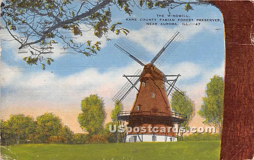 County Fabian Forest Preserves - Aurora, Illinois IL Postcard