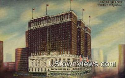 Palmer House, A Hilton Hotel - Chicago, Illinois IL Postcard