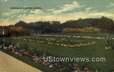 Gardens, Douglas Park - Chicago, Illinois IL Postcard