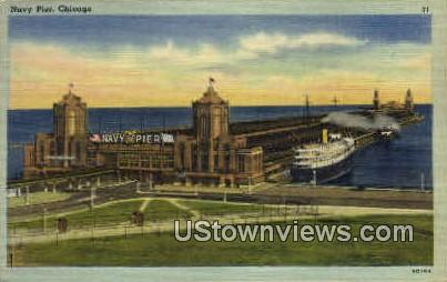 Navy Pier  - Chicago, Illinois IL Postcard