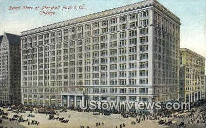 Marshall Field and Co. - Chicago, Illinois IL Postcard