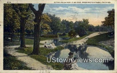 Washington Park - Chicago, Illinois IL Postcard