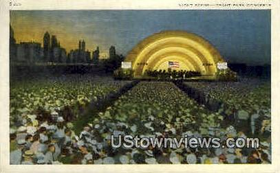 Grant Park Concerts - Chicago, Illinois IL Postcard